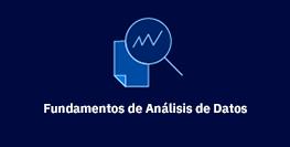 Fundamentos de Análisis de Datos