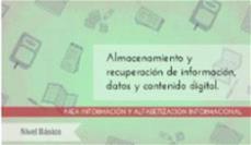 Almacenamiento y recuperación de la información: nivel básico