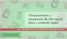 Almacenamiento y recuperación de la información: nivel intermedio