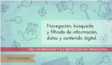 Navegación, búsqueda y filtrado de información: nivel avanzado